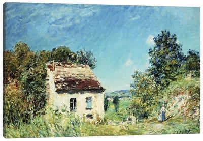 La Maison Abandonee, 1887  Canvas Art Print