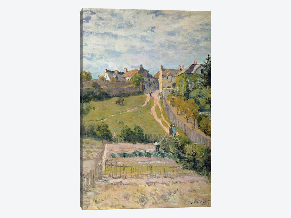 The Climbing Path, 1875  by Alfred Sisley 1-piece Canvas Wall Art