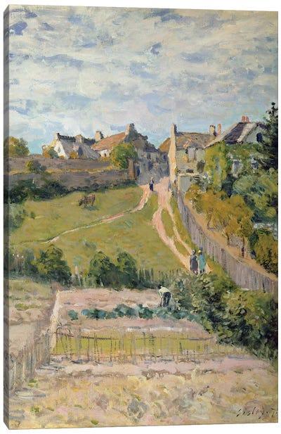 The Climbing Path, 1875  Canvas Art Print