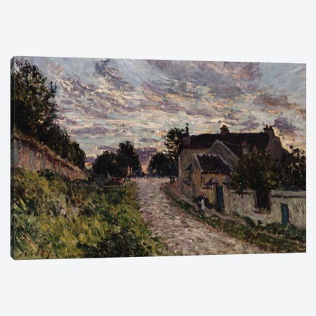 The Path to Louveciennes, 1876  Canvas Print #BMN8854} by Alfred Sisley Canvas Art