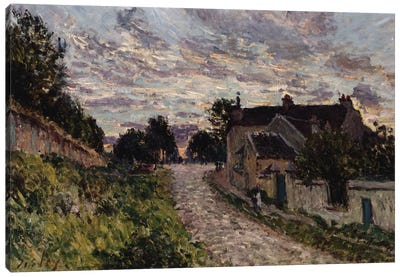 The Path to Louveciennes, 1876  Canvas Art Print