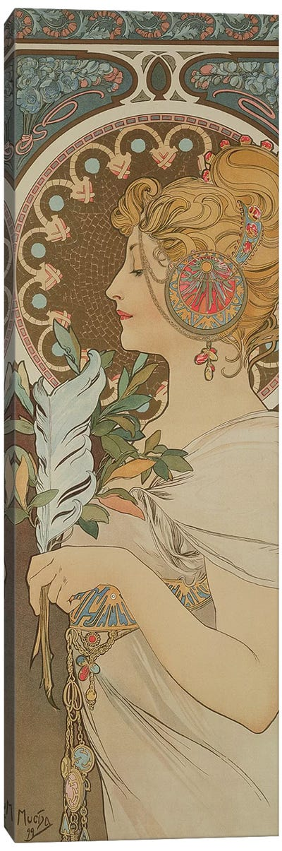 Feather, 1899  Canvas Art Print