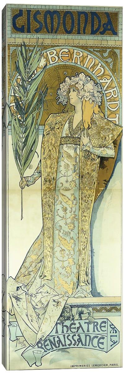 Gismonda, c.1894  Canvas Art Print