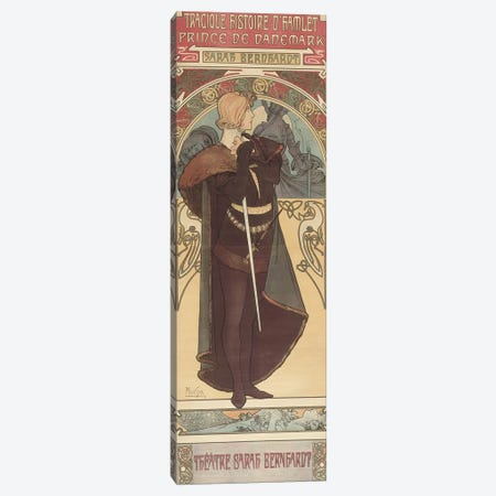 Hamlet, 1899  Canvas Print #BMN8868} by Alphonse Mucha Canvas Wall Art