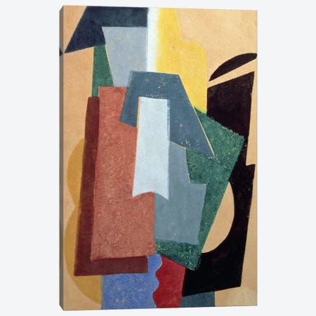 Summer, 1917-18 (oil on canvas) Canvas Print #BMN88} by Lyubov Popova Canvas Art