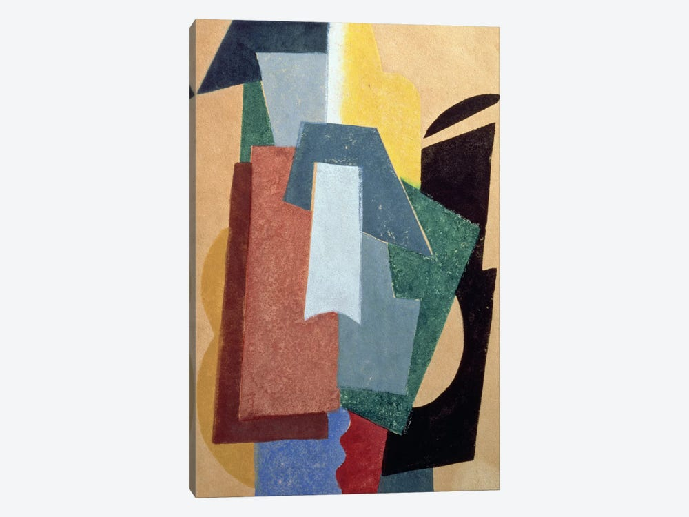 Summer, 1917-18 (oil on canvas) by Lyubov Popova 1-piece Canvas Art
