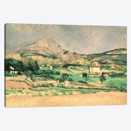 Montagne Sainte-Victoire, c.1882-85  Canvas Print #BMN890} by Paul Cezanne Canvas Print