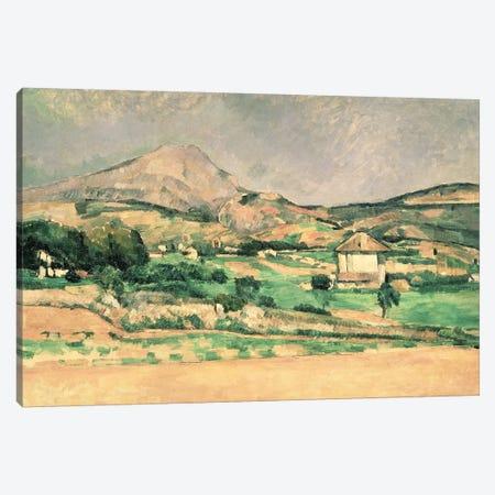 Montagne Sainte-Victoire, c.1882-85  Canvas Print #BMN890} by Paul Cezanne Canvas Print