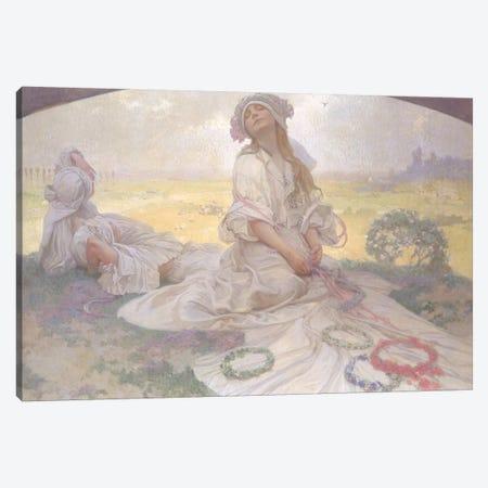 Song of Bohemia, c.1930  Canvas Print #BMN8949} by Alphonse Mucha Canvas Print