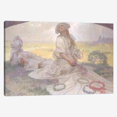 Song of Bohemia, c.1930  Canvas Print #BMN8949} by Alphonse Mucha Canvas Print