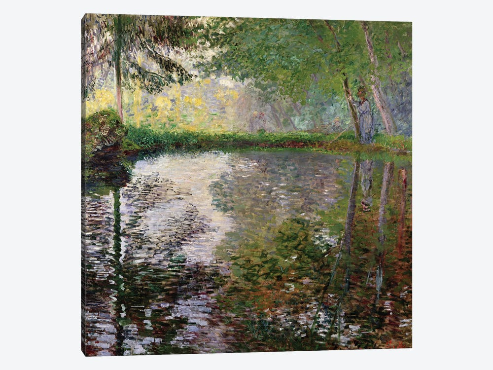 The Lake at Montgeron by Claude Monet 1-piece Canvas Print