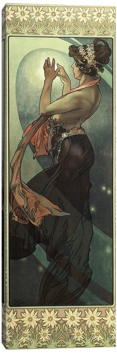 The Moon and the Stars: Pole Star, 1902  Canvas Art Print
