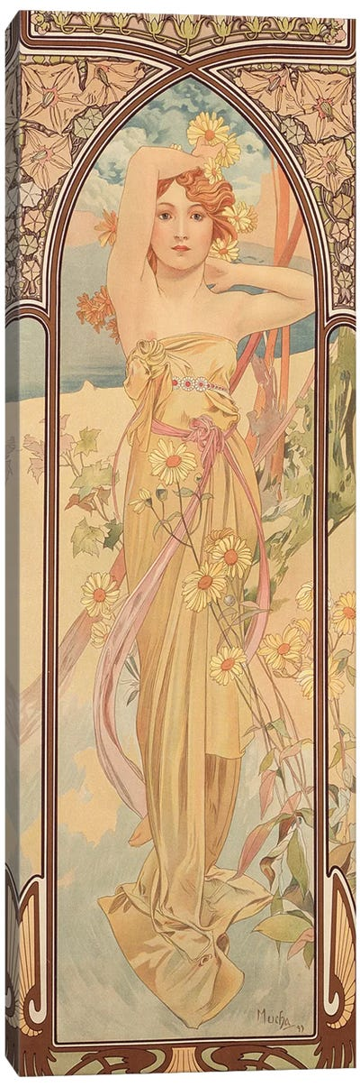 The Times of the Day: Brightness of Day, 1899  Canvas Art Print