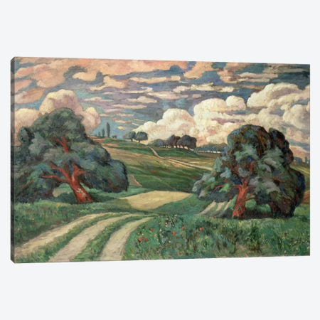 Fauve Landscape Canvas Print #BMN897} by Carl-Edvard Diriks Canvas Wall Art