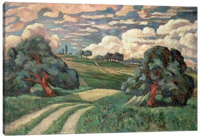 Fauve Landscape Canvas Art Print