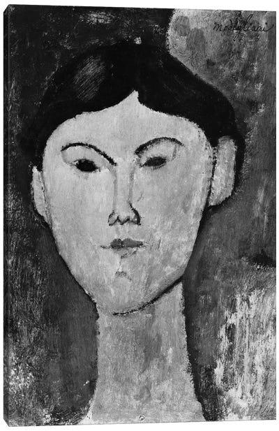 Beatrice Hastings  c.1914-15   Canvas Art Print
