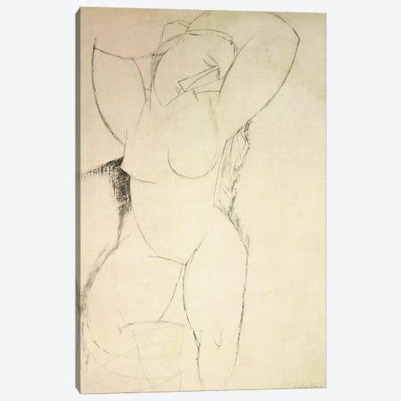 Caryatid, c.1913-14  Canvas Print #BMN8987} by Amedeo Modigliani Canvas Art