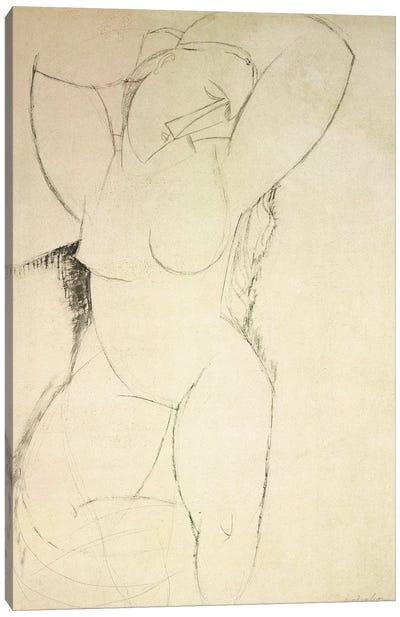 Caryatid, c.1913-14  Canvas Art Print