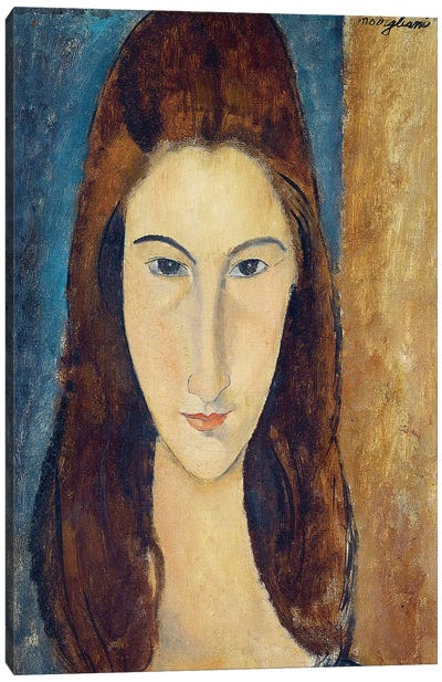 Jeanne Hebuterne, 1917-18  Canvas Art Print