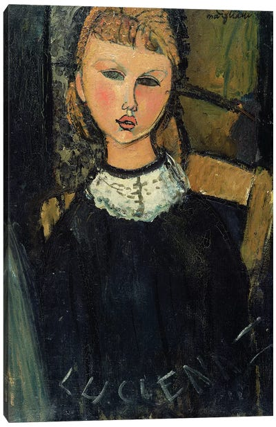 Lucienne, c.1916-17 Canvas Art Print