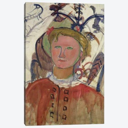 Marie Vassilieff   Canvas Print #BMN9006} by Amedeo Modigliani Canvas Art