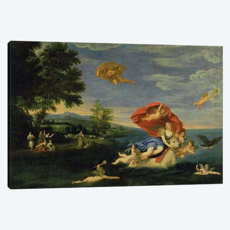 The Rape of Europa  Canvas Print #BMN900} by Francesco Albani Canvas Print