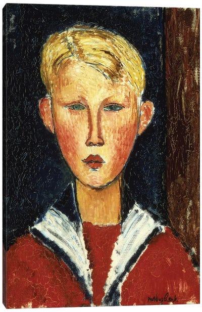 The Blue-Eyed Boy, 1916  Canvas Art Print