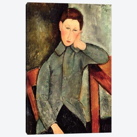 The Boy, 1919  Canvas Print #BMN9020} by Amedeo Modigliani Art Print
