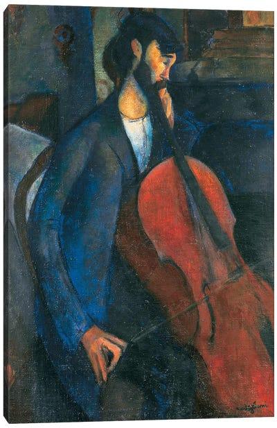 The Cellist, 1909  Canvas Art Print