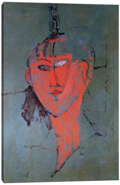 The Red Head, c.1915  Canvas Art Print