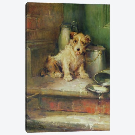 Spilt Milk Canvas Print #BMN903} by Philip Eustace Stretton Canvas Print