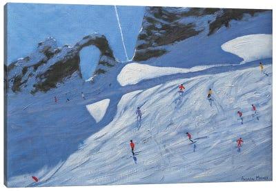 L'Aiguille Percee, Tignes Canvas Art Print