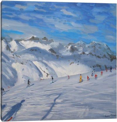 Mountain Tops, Tignes Canvas Art Print
