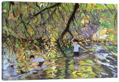 River Wye Canvas Art Print