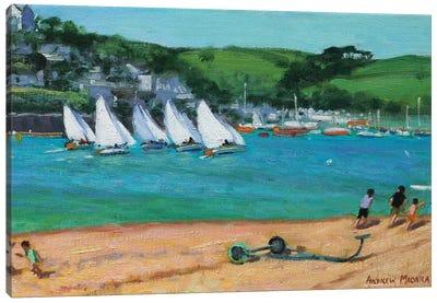 Summer Regatta, Salcombe Canvas Art Print