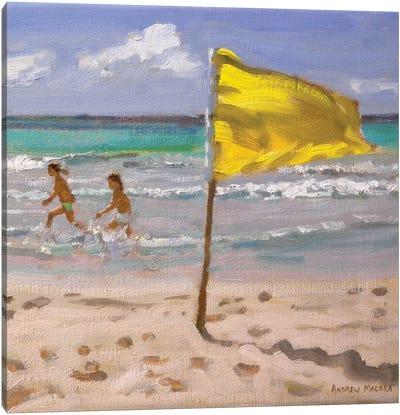 Yellow Flag, Barbado Canvas Art Print