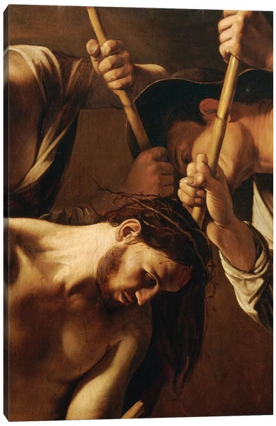 The Crowning with Thorns, c.1603 Canvas Art Print