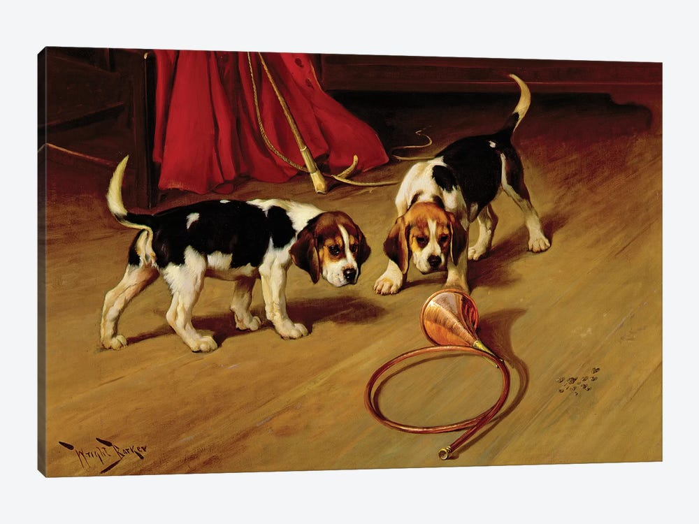 First Introduction by Wright Barker 1-piece Art Print