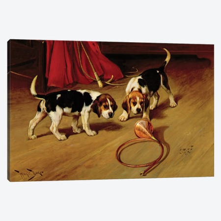 First Introduction 3-Piece Canvas #BMN908} by Wright Barker Canvas Art Print