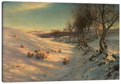 Through The Crisp Air, 1902 Canvas Art Print