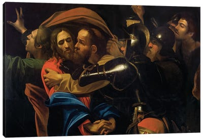 The Taking of Christ Canvas Art Print