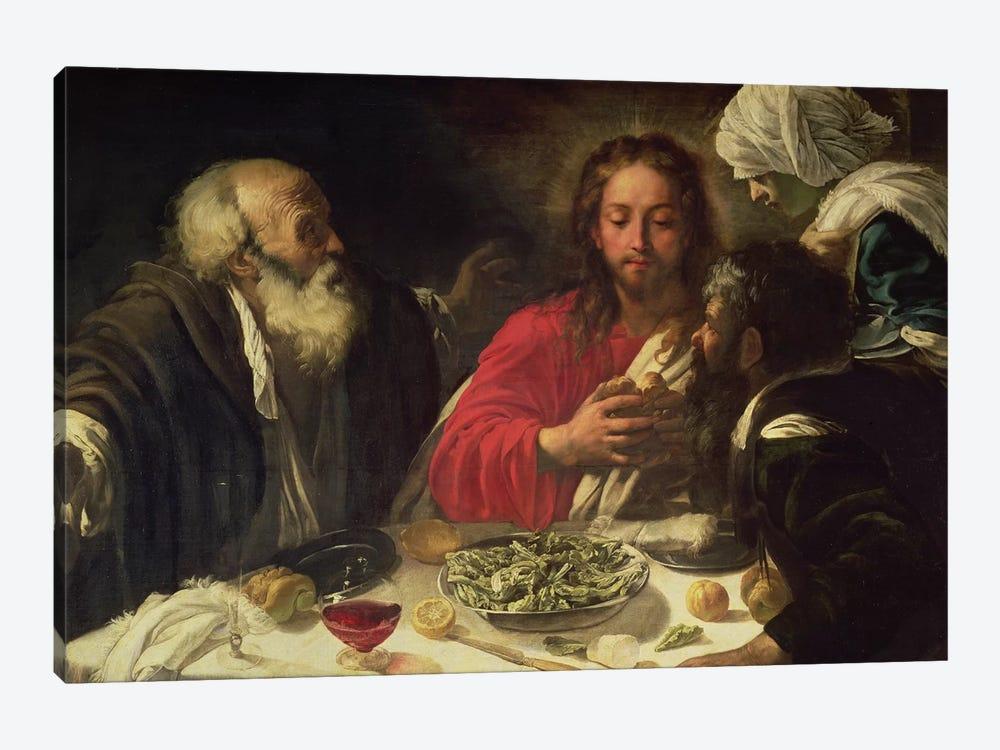 The Supper at Emmaus, c.1614-21 by Michelangelo Merisi da Caravaggio 1-piece Canvas Print