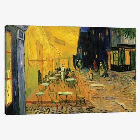 Cafe Terrace, Place du Forum, Arles, 1888 Canvas Print #BMN9122} by Vincent van Gogh Canvas Wall Art