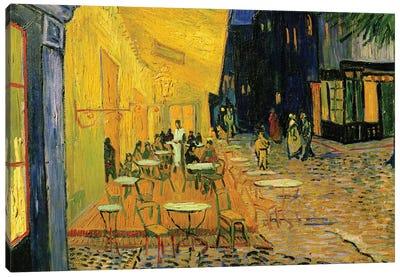 Cafe Terrace, Place du Forum, Arles, 1888 Canvas Art Print