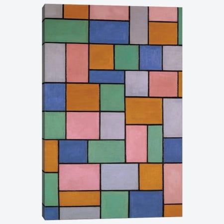 Composition In Dissonances Canvas Print #BMN9131} by Theo Van Doesburg Art Print