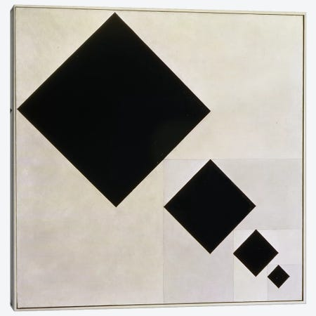 Arithmetic Composition Canvas Print #BMN9143} by Theo Van Doesburg Canvas Artwork