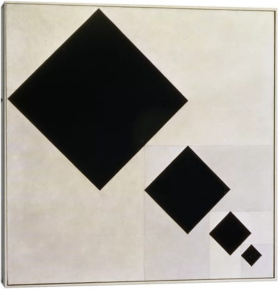 Arithmetic Composition Canvas Art Print