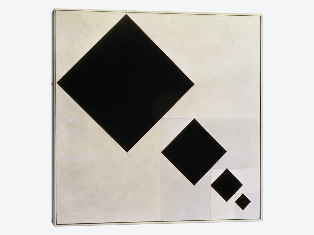 Arithmetic Composition by Theo Van Doesburg 1-piece Canvas Artwork