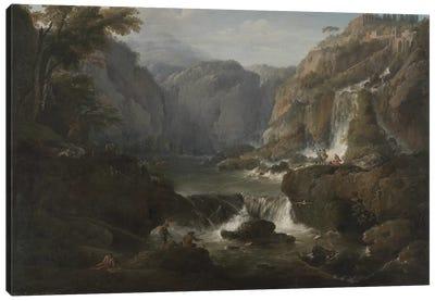 The Waterfalls at Tivoli, 1737 Canvas Art Print