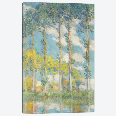 The Poplars; Les Peupliers, 1891 Canvas Print #BMN9148} by Claude Monet Canvas Wall Art